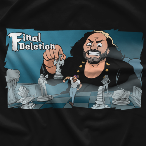 Delete Comic T-shirt