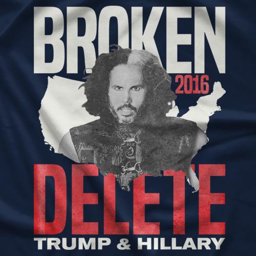 Matt Hardy Broken Campaign T-shirt