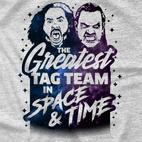 The Greatest Tag Team in Space & Time