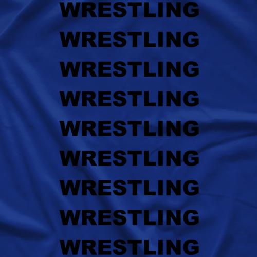 Hashtag Wresting T-Shirt