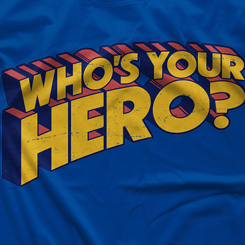 Chris Hero Who's Your Hero T-shirt