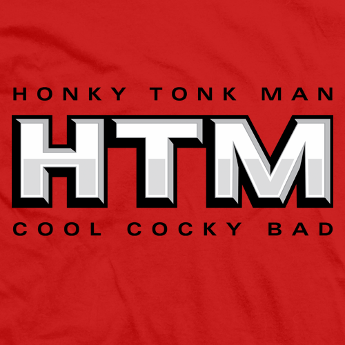 Honky Tonk Man Cool Cocky Bad T-shirt
