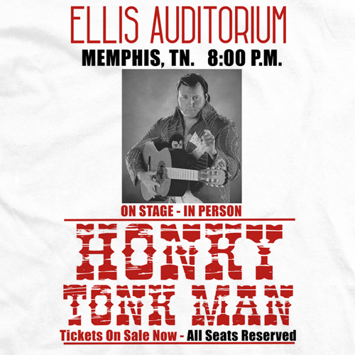 Honky Tonk Man Poster T-shirt