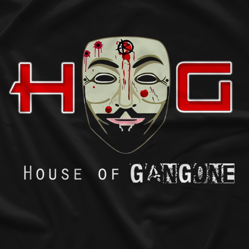 House of Glory Wrestling House Of Gangone T-shirt