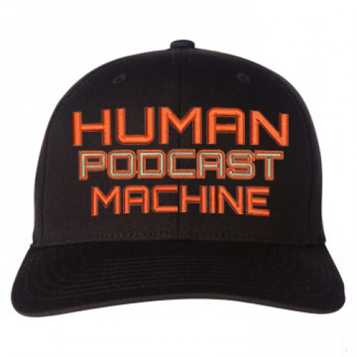 Human Podcast Machine Hat