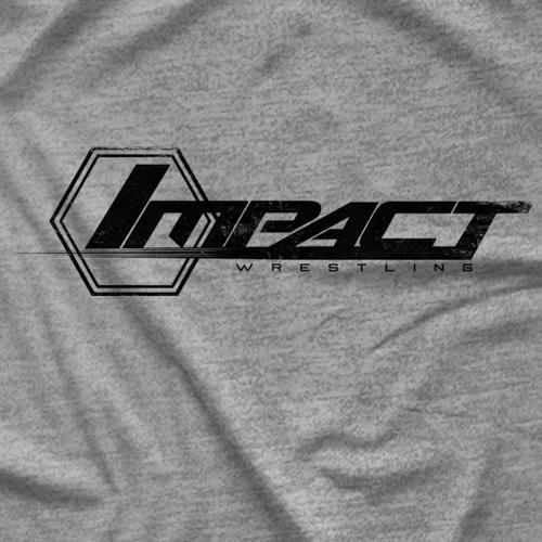 Impact Wrestling Impact Logo Distressed T-shirt