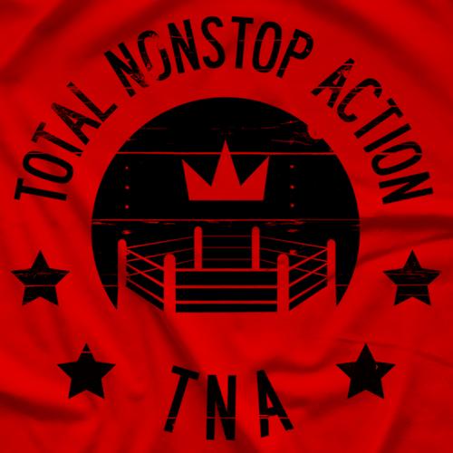 Impact Wrestling TNA Crown Vintage T-shirt