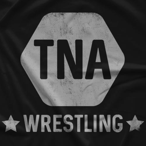 Impact Wrestling TNA 6 Side Vintage T-shirt