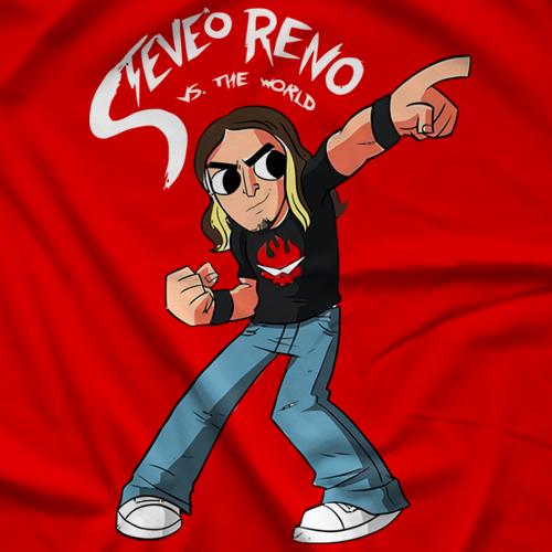 Inspire Pro Wrestling Steve-O Reno T-shirt