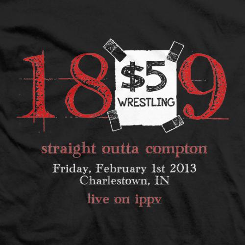 $5 Wrestling ippv T-shirt