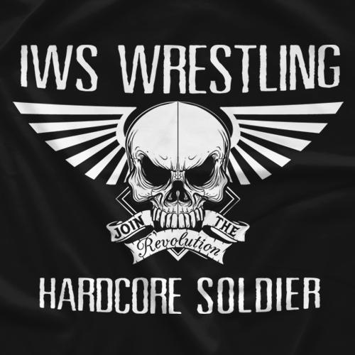 IWS Pro Wrestling Violent Offender T-shirt