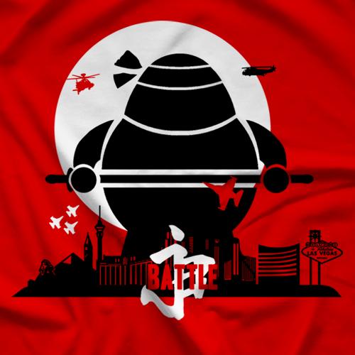 Big Black Kaiju T-shirt