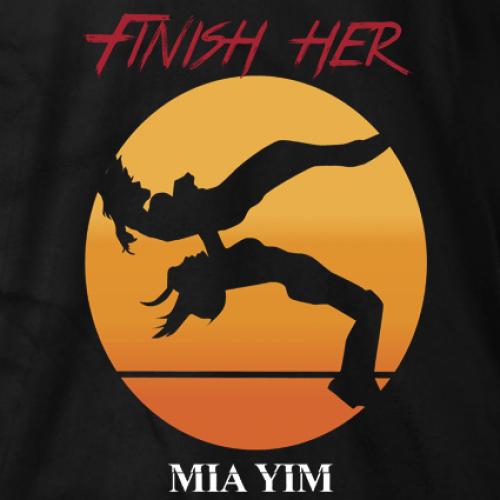 Jade Mia Yim Finish Her T-shirt