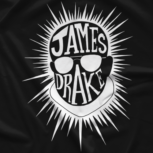 James Drake White T-shirt