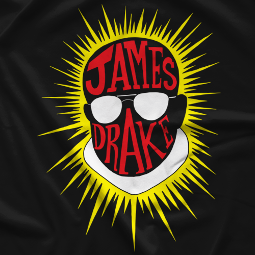 James Drake Red T-shirt