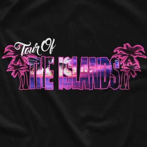 Jeff Cobb Tour Of The Islands T-shirt