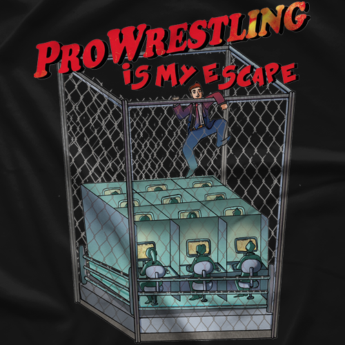 Wrestling Is My Escape T-shirt
