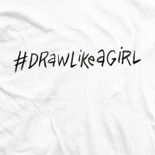 Draw Like A Girl Hashtag