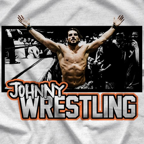 "- Clotheslined Apparel - Vintage Blend Soft T-shirt Johnny Gargano ""Legacy"""