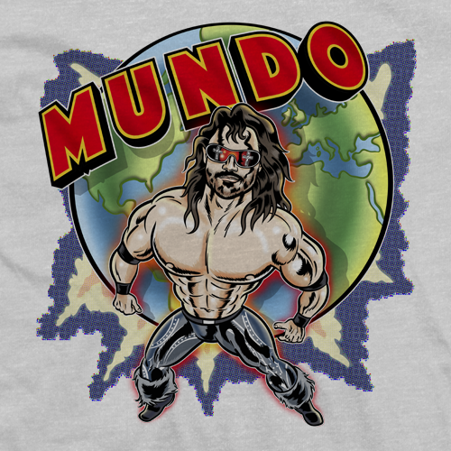 Johnny Mundo This Is My World T-shirt