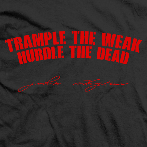 Trample the Weak
