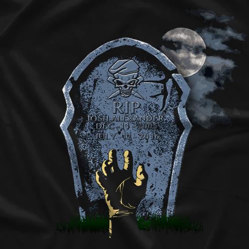 Josh Alexander Tombstone T-shirt