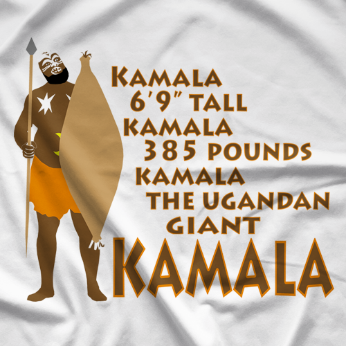 Kamala Kamala Stats T-shirt