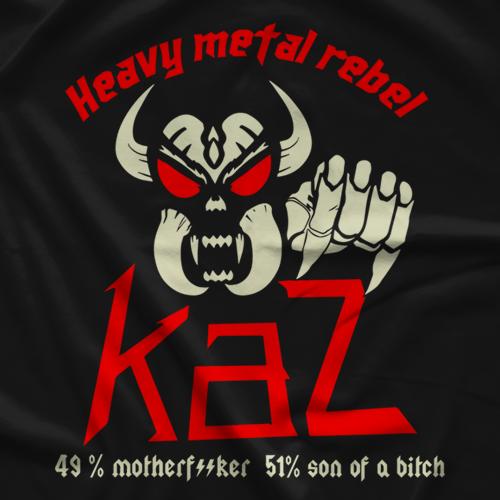 Frankie Kazarian Heavy Metal Rebel T-shirt