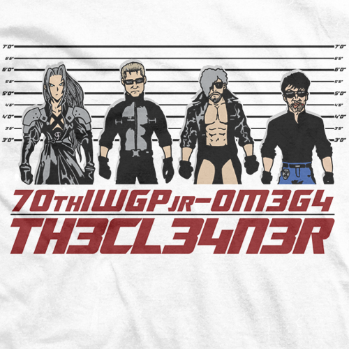 Kenny Omega 70th IWGP jr T-shirt