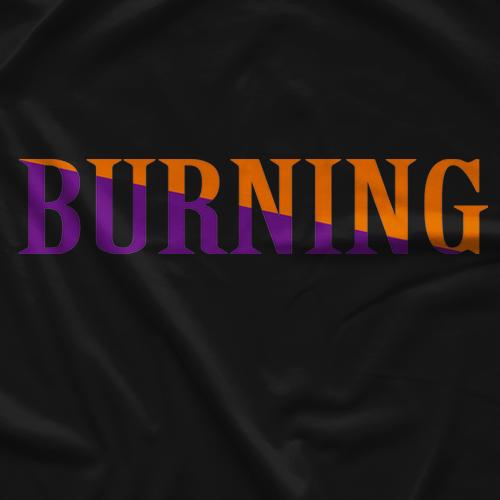 Kenta Kobashi Burning Black T-shirt