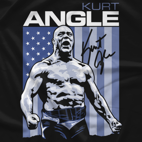 Kurt Angle Icon T-shirt