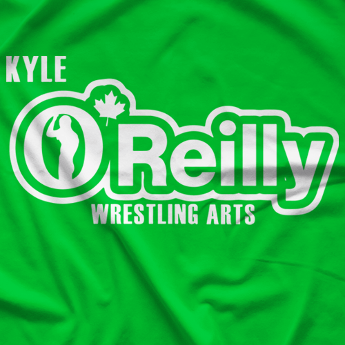 O'Reilly Wrestling Parts T-shirt