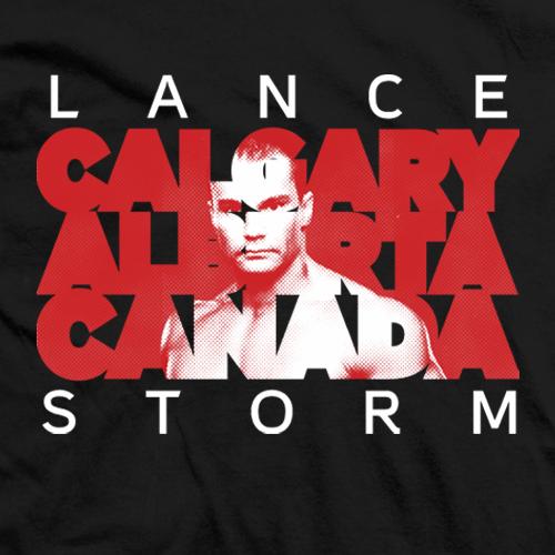 Lance Storm Calgary T-shirt