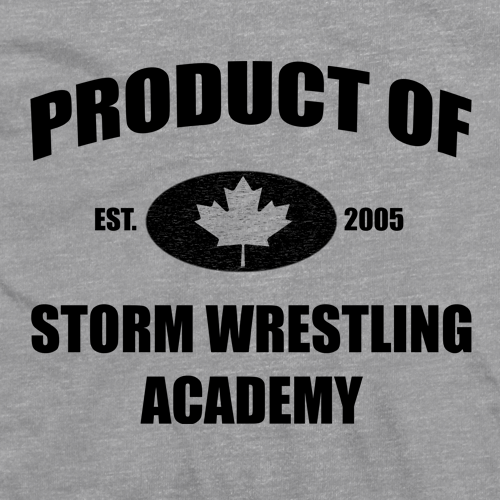 Storm Wrestling Academy T-shirt