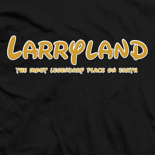 Larry Zbysko The Most Legendary T-shirt
