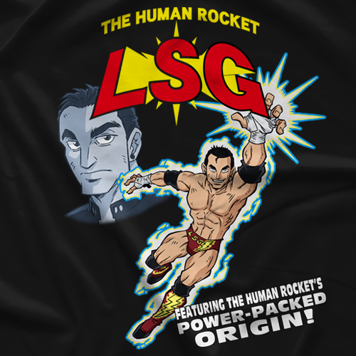 The Human Rocket T-shirt