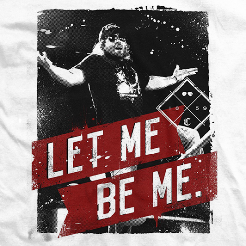 Cliff Compton Let Me Be Me T-shirt