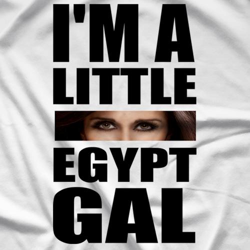 Little Egypt Real Egypt Gal Black T-shirt