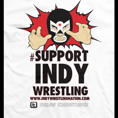 IWN El Luchador Support Indy Wrestling