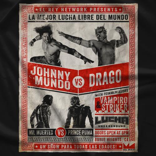 Lucha Underground Poster T-Shirt
