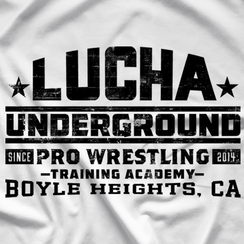 Lucha Underground Training Academy White T-Shirt