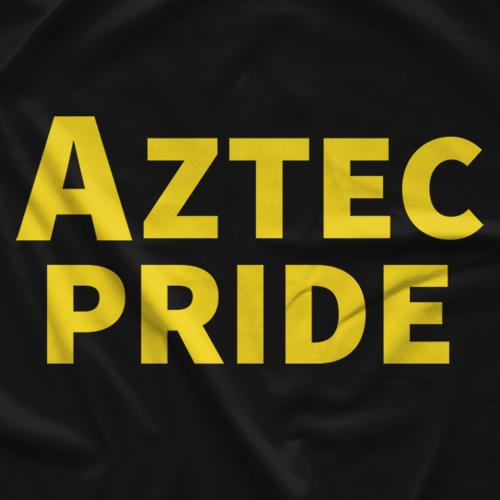 Lucha Underground Aztec Pride Black T-Shirt