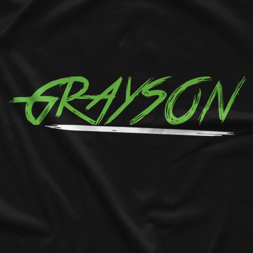 Luke Grayson Underline T-shirt