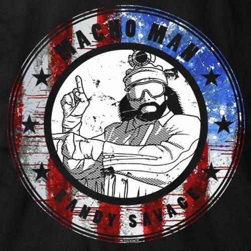Macho Man Emblem T-shirt