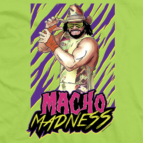 Macho Man Macho Madness T-shirt