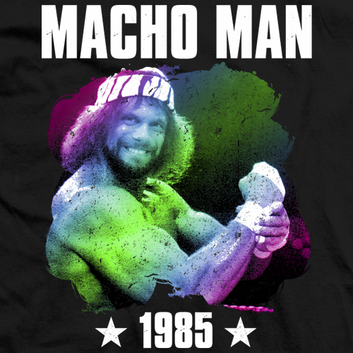 Macho Man 1985 T-shirt