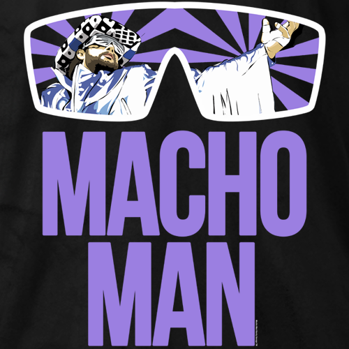 Macho Man Classic Macho Man T-shirt
