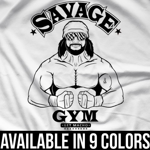 Macho Man Savage Gym T-shirt