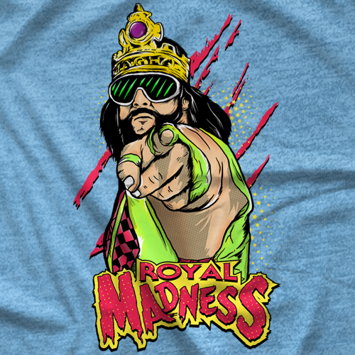 Macho Man Royal Madness T-shirt
