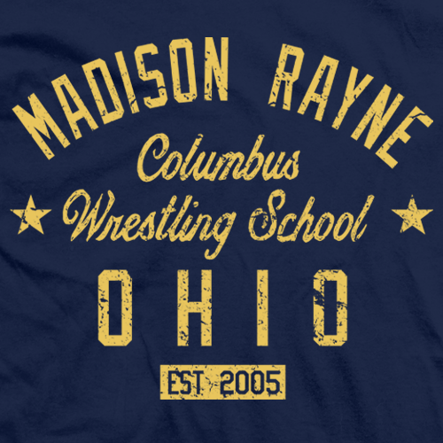 Madison Rayne Columbus Wrestling School T-shirt